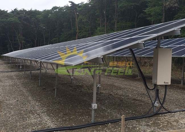 Extremely Pre Assembled Solar PV Mounting Systems Anodized Surface Treatment